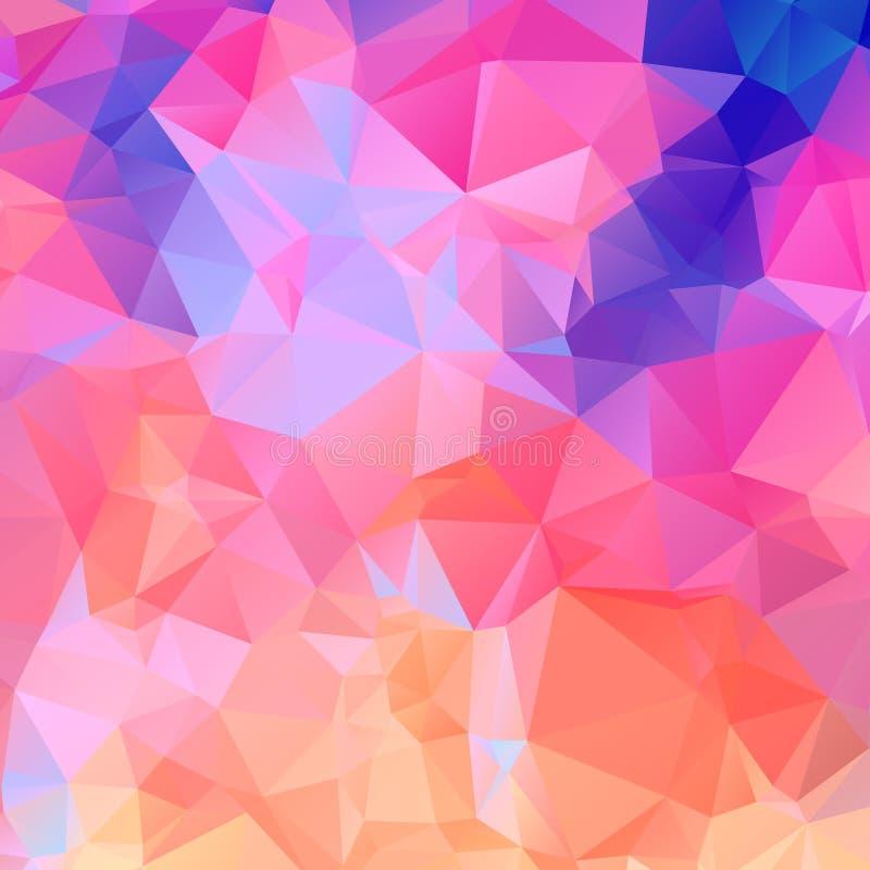 Абстрактная красочная предпосылка EPS10 вектора Lowpoly иллюстрация штока
