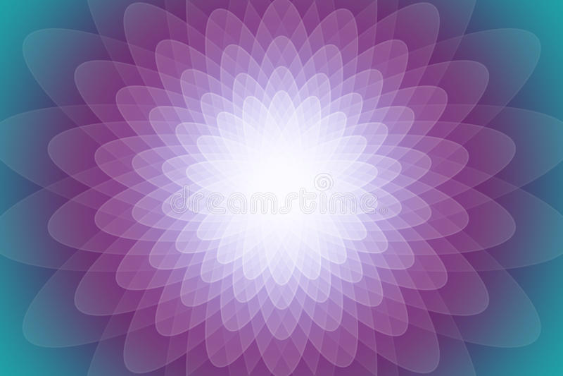 Абстрактная красочная прозрачная предпосылка цветка или стоковое фото rf
