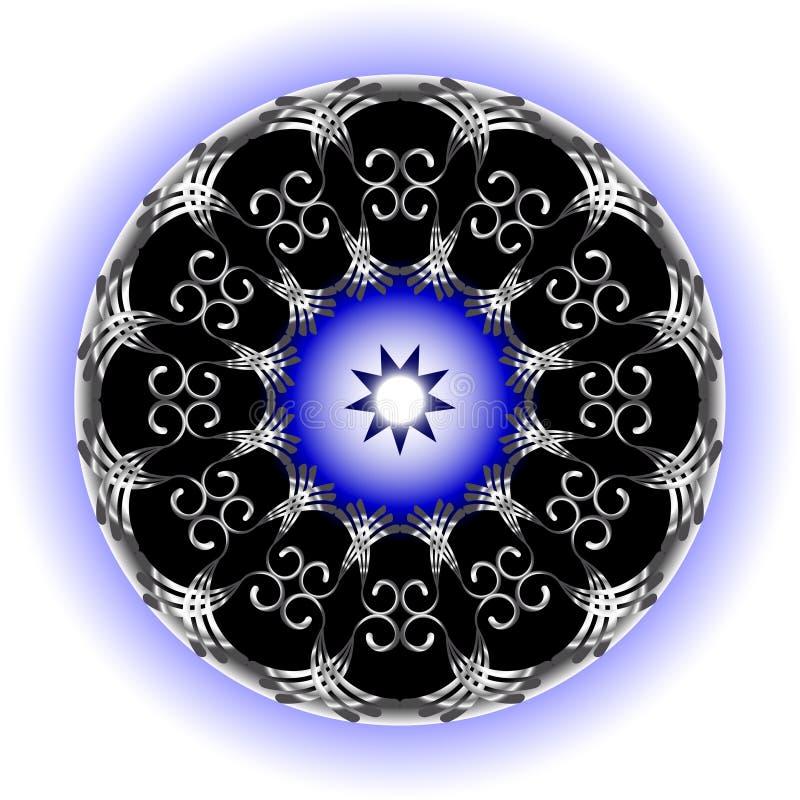 Абстрактная круглая диаграмма бесплатная иллюстрация