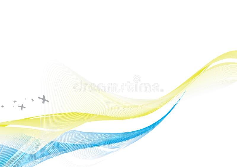абстрактная линия волна предпосылки бесплатная иллюстрация