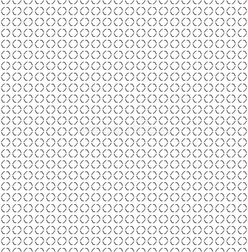Абстрактная линия кривой руки текстуры Безшовная предпосылка иллюстрация вектора
