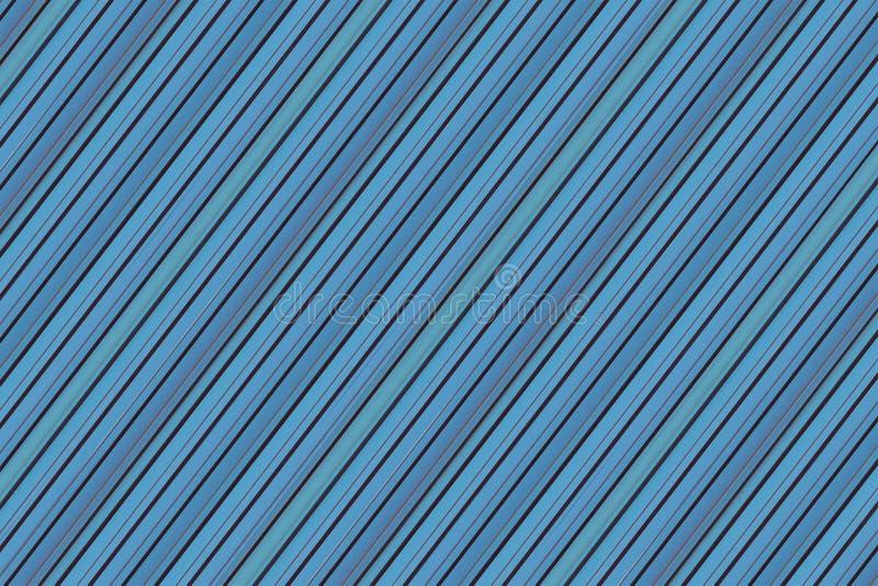 Абстрактная металлическая предпосылка пошутила над линиями дизайном голубого холста бесконечными основания картины параллели геом иллюстрация вектора