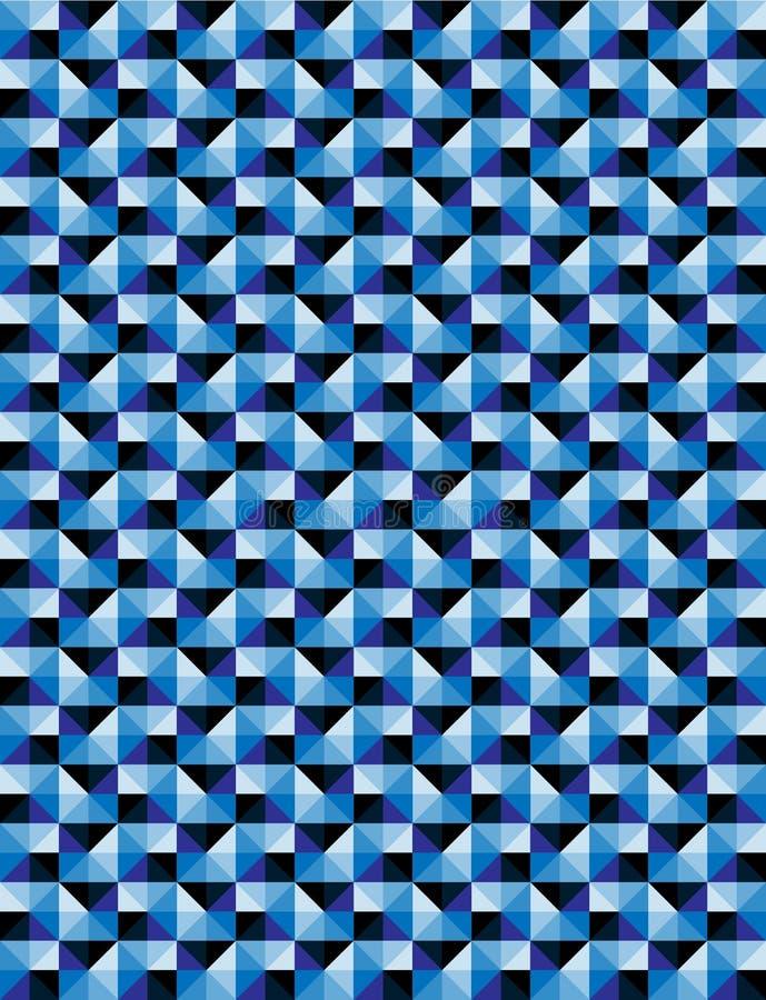 Абстрактная мозаика patten предпосылки иллюстрация вектора