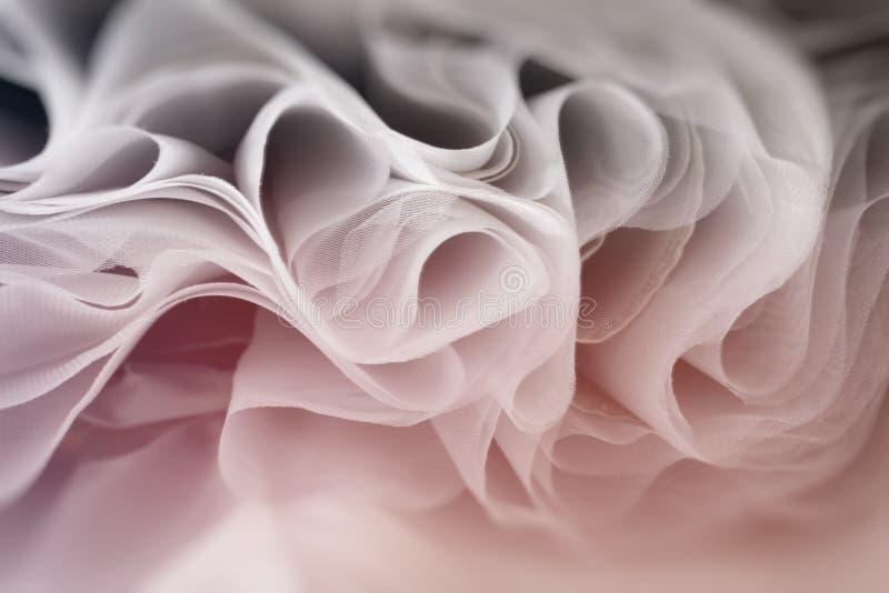 Абстрактная мягкая шифоновая предпосылка текстуры стоковая фотография