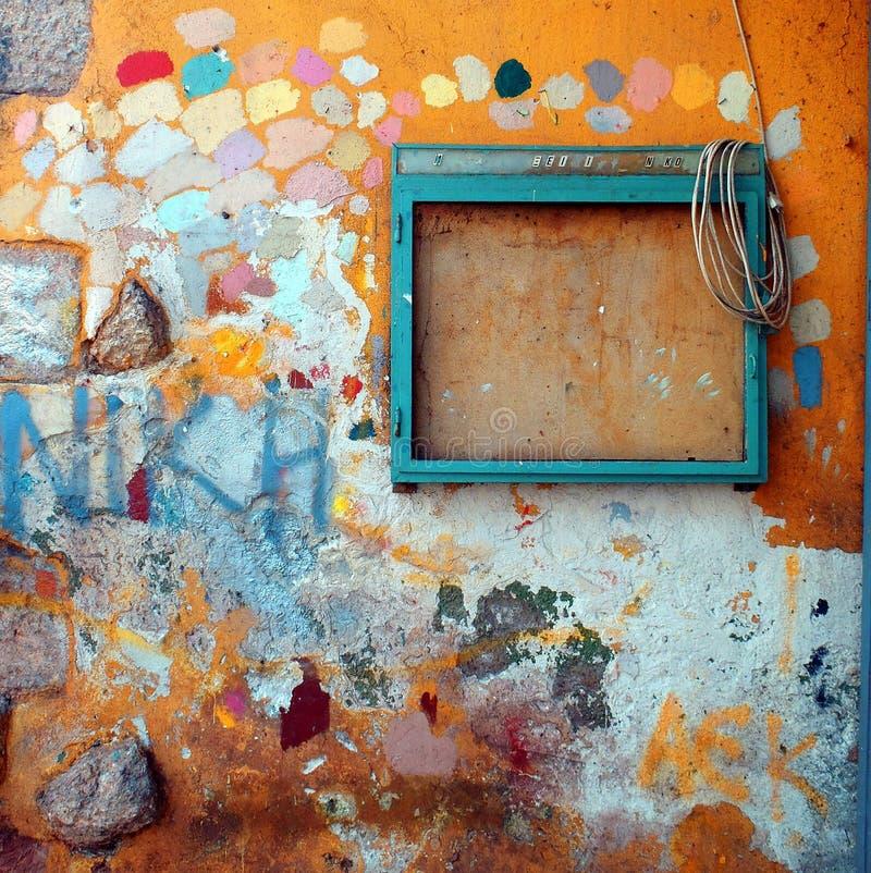 абстрактная надпись на стенах стоковые изображения