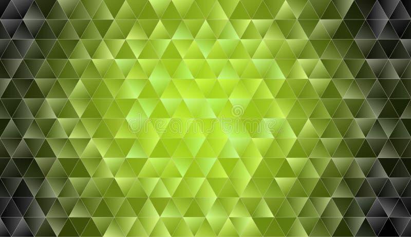 Абстрактная Низко-поли триангулярная современная предпосылка иллюстрация вектора