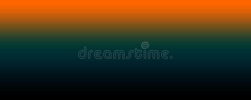 Абстрактная оранжевая и темно-синая и коричневая предпосылка техника иллюстрация вектора