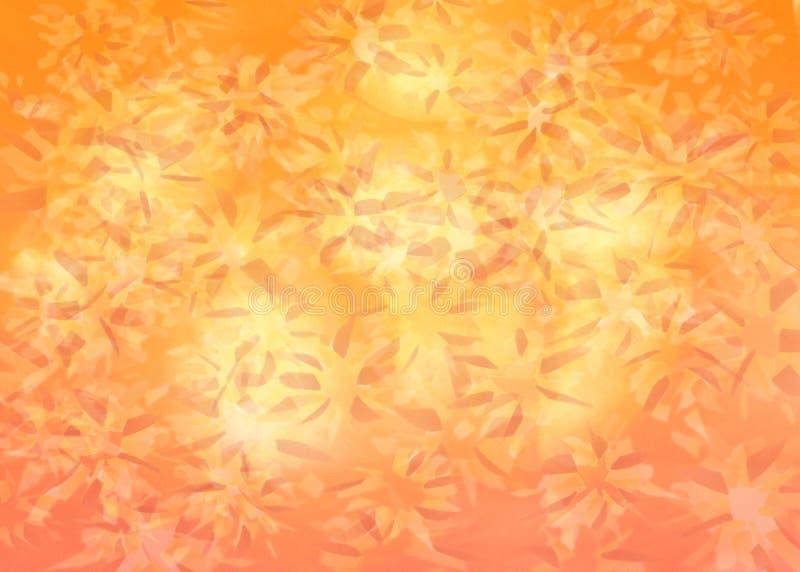 Абстрактная оранжевая предпосылка стоковые фотографии rf