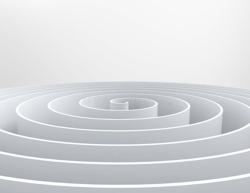 абстрактная переплетенная предпосылка иллюстрация штока