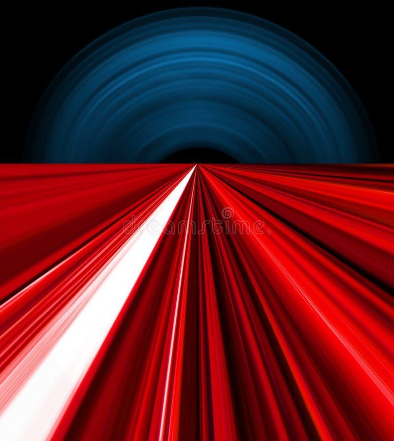 абстрактная перспектива иллюстрация вектора