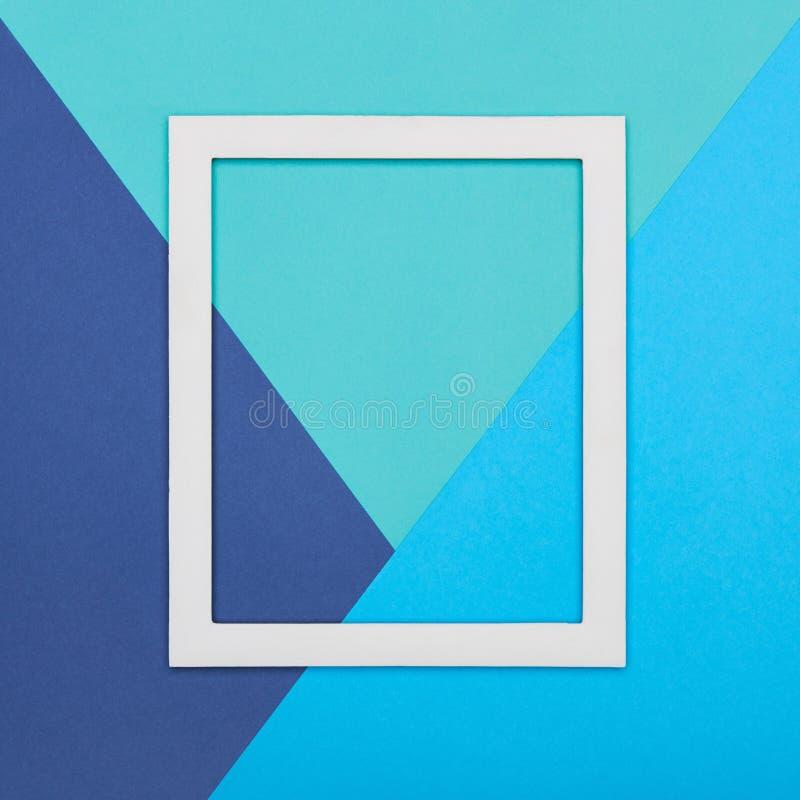 Абстрактная пестротканая бумажная предпосылка минимализма текстуры Минимальные геометрические формы и линии состав с картинной ра стоковые фотографии rf