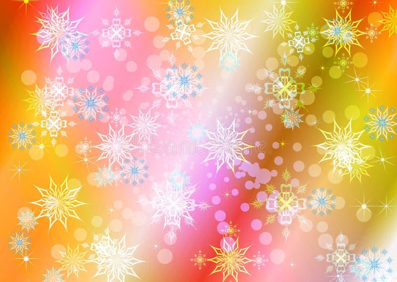 абстрактная праздничная зима иллюстрации иллюстрация штока