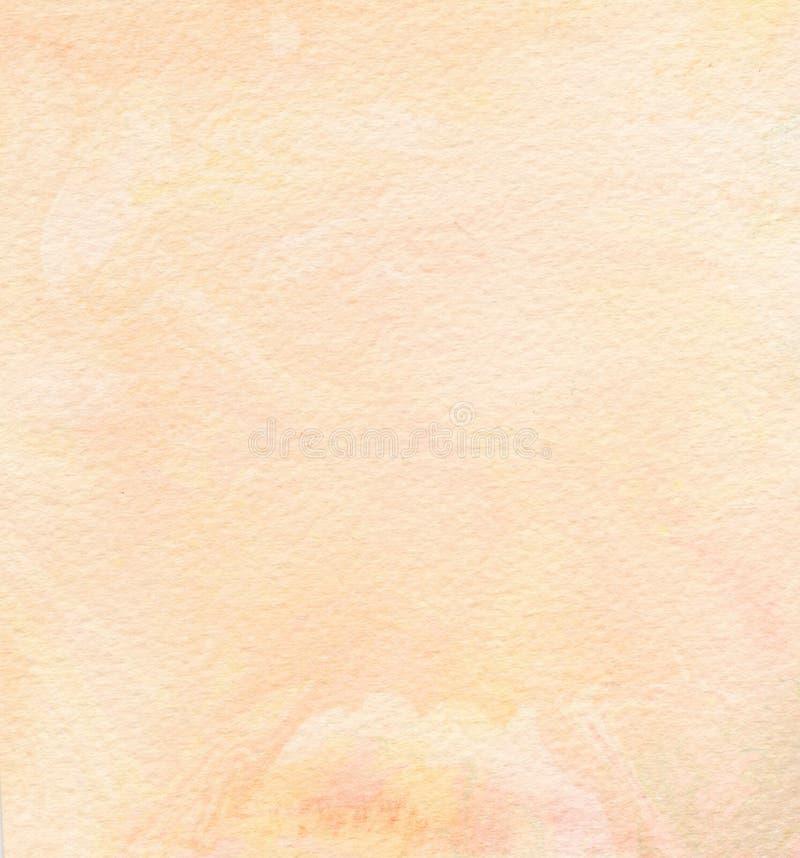 Абстрактная предпосылка акварели Абстрактная покрашенная предпосылка акварели на текстуре бумаги иллюстрация вектора