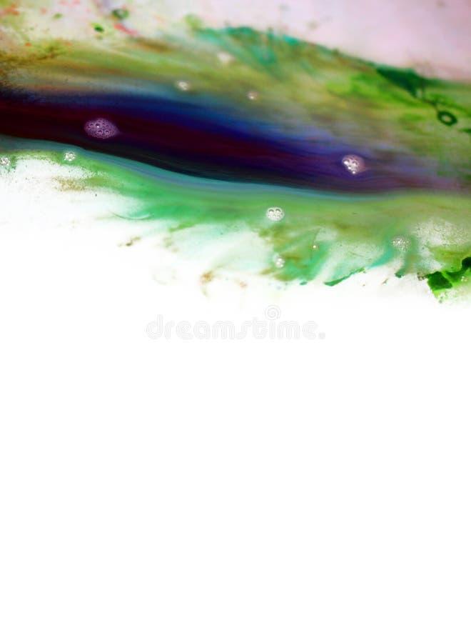 Абстрактная предпосылка акварели с краской движения стоковое фото rf
