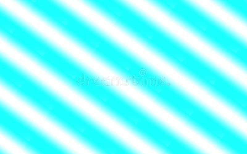 Абстрактная предпосылка белых мягких раскосных нашивок над текстурированной голубой картиной иллюстрация штока