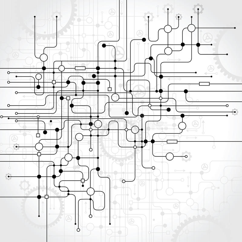 Абстрактная предпосылка вектора бесплатная иллюстрация