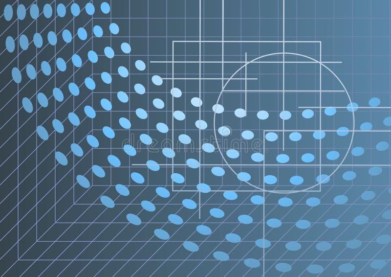 абстрактная предпосылка высокотехнологичная бесплатная иллюстрация