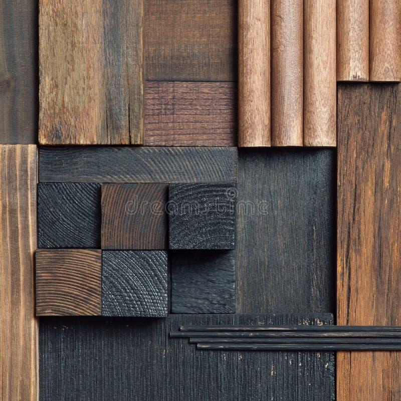 Абстрактная предпосылка деревянного блока стоковые изображения