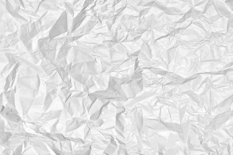 Абстрактная предпосылка для планов Текстура тяжело скомканного бумажного конца-вверх стоковые изображения