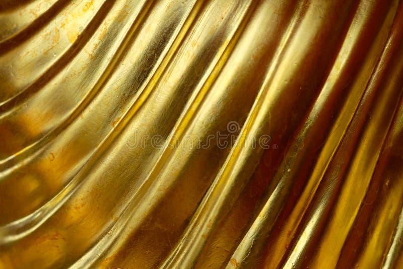 Абстрактная предпосылка золота, лоснистый металл стоковая фотография