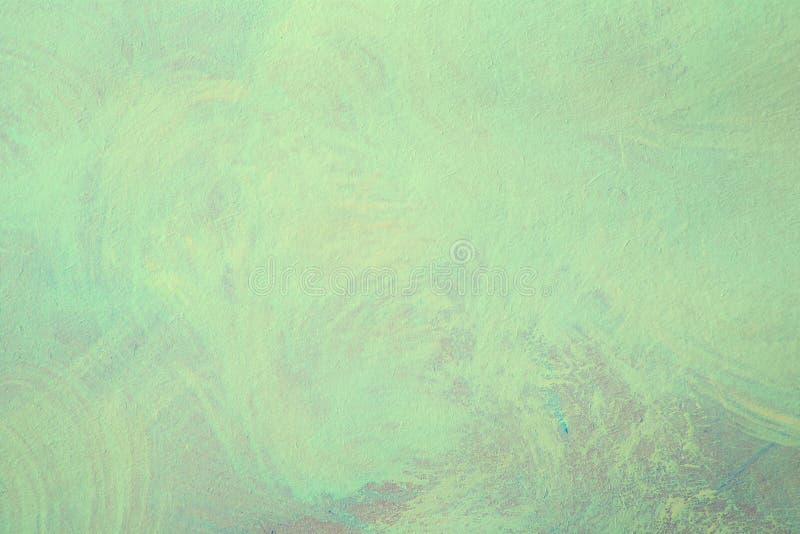 Абстрактная предпосылка картины brushstroke зеленого цвета grunge бесплатная иллюстрация