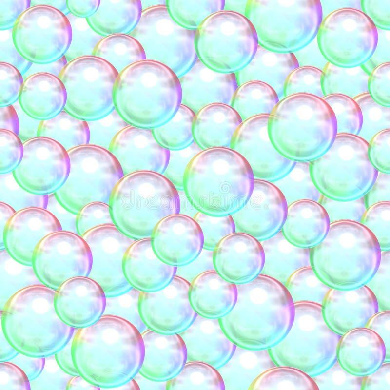 Абстрактная предпосылка много пузырей мыла бесплатная иллюстрация