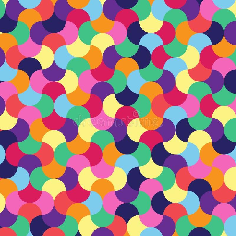 Абстрактная предпосылка мозаики m иллюстрация вектора