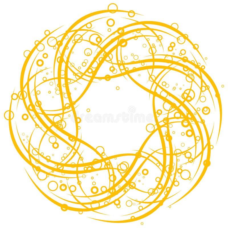 абстрактная предпосылка объезжает вектор переченей illustratio бесплатная иллюстрация