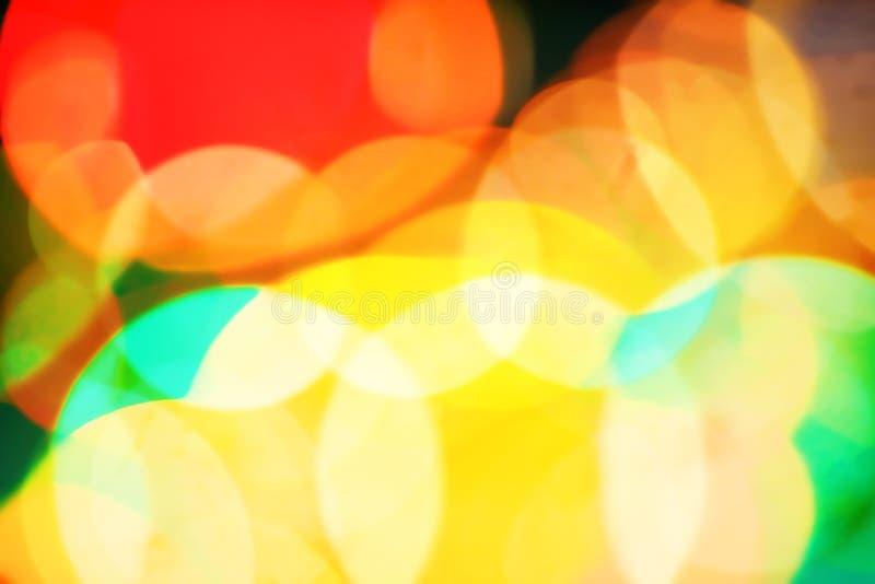 абстрактная предпосылка освещает unfocused стоковая фотография rf