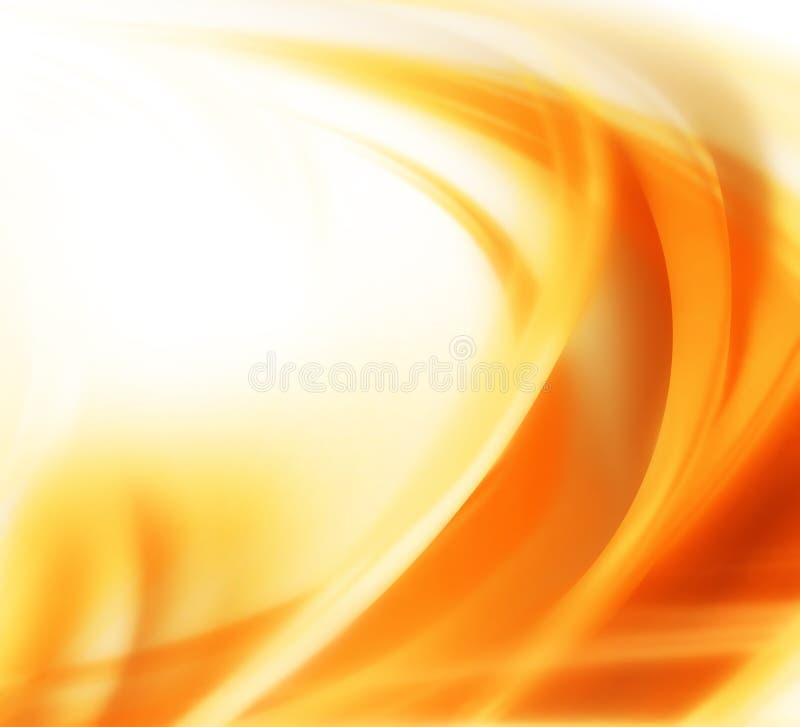 абстрактная предпосылка осени иллюстрация вектора