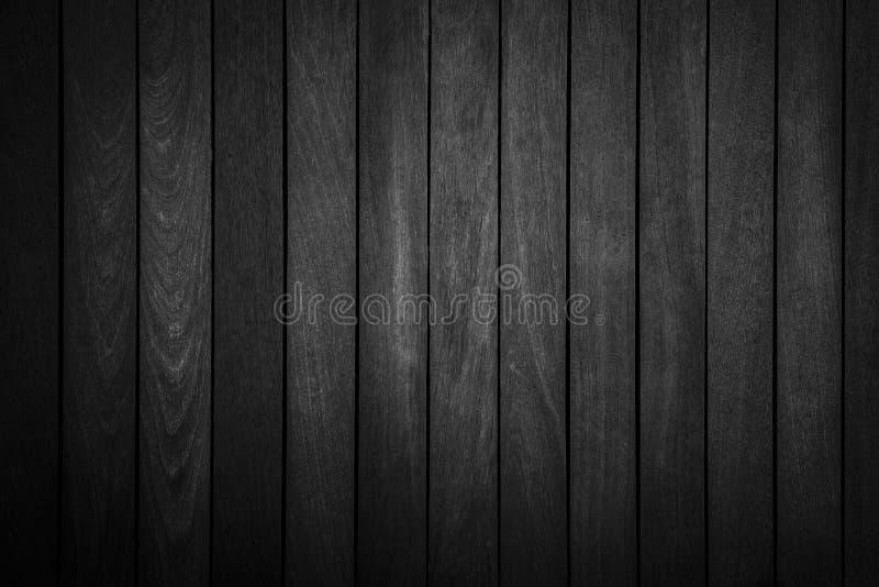 Абстрактная предпосылка от черной деревянной картины на стене в темном тоне стоковые фото