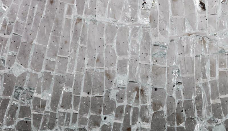 Абстрактная предпосылка пакостных осколков стекла в малое rectangu стоковые изображения