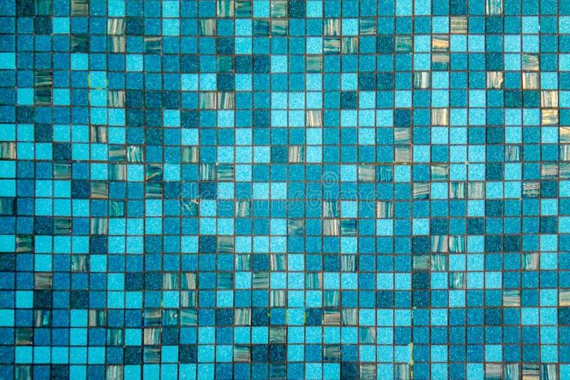 Абстрактная предпосылка поверхностной воды пульсации голубой в бассейне стоковое фото