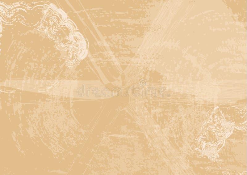 Абстрактная предпосылка, ретро иллюстрация вектора