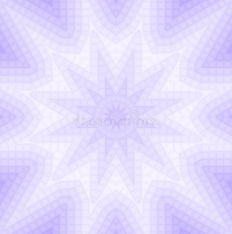 Абстрактная предпосылка сирени иллюстрация вектора