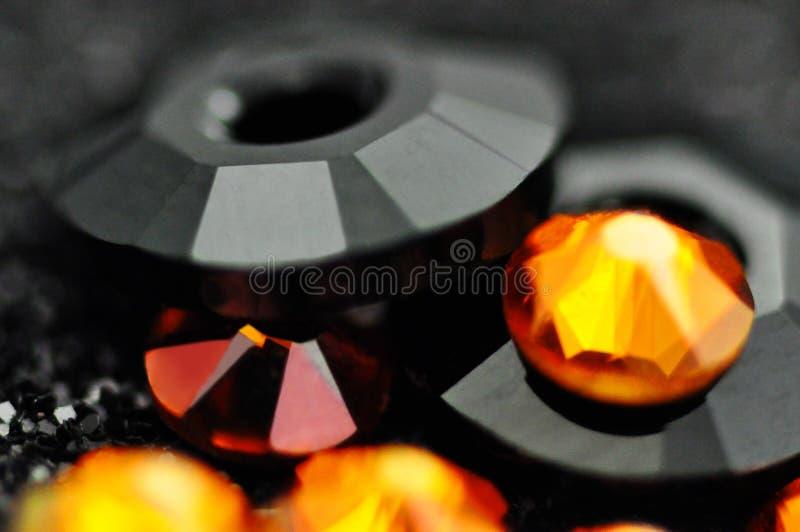 Абстрактная предпосылка со стеклом и кристаллы конструируют стоковое фото rf