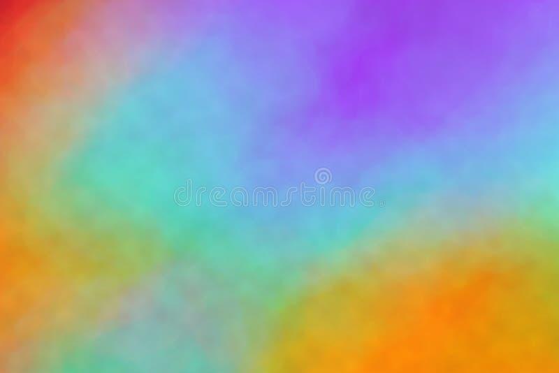 Абстрактная предпосылка спектра: фото запаса радуги стоковые изображения rf