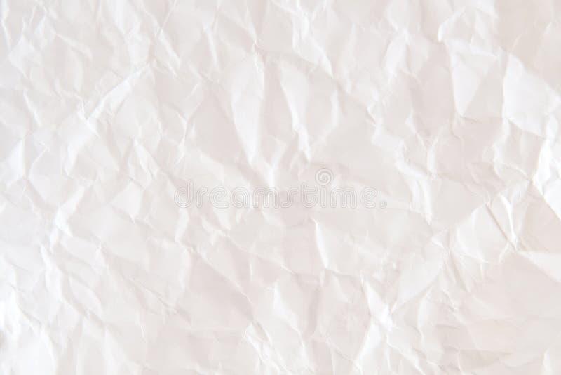 Абстрактная предпосылка старой бумажной текстуры, белизна и коричневый цвет комкают стоковая фотография