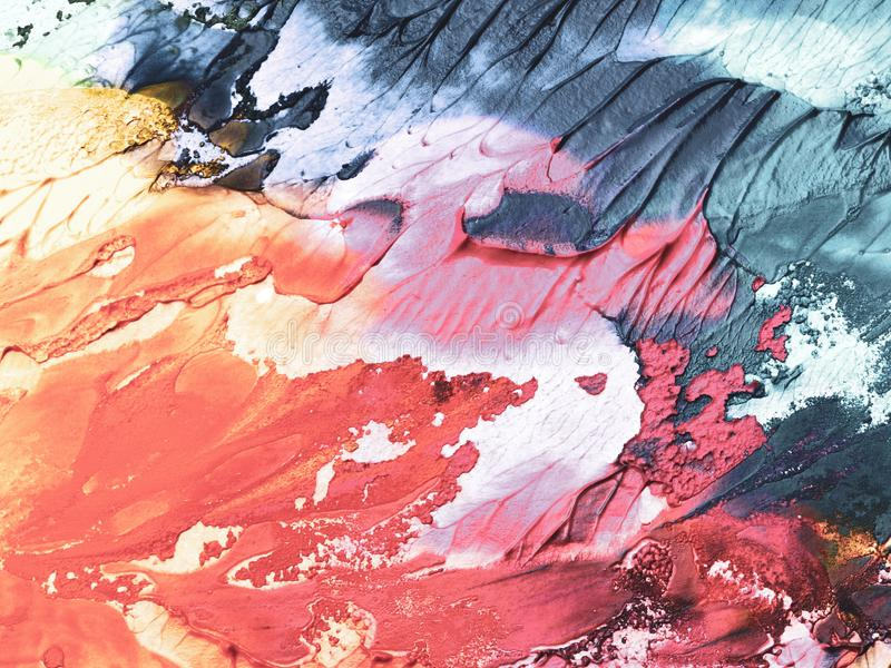 Абстрактная предпосылка, стена покрашенная в других цветах стоковое изображение rf