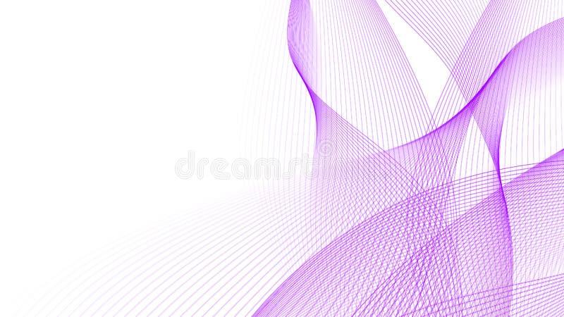 Абстрактная предпосылка с волнистыми линиями стоковые фотографии rf