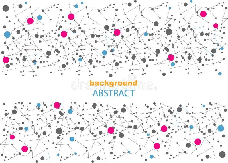 Абстрактная предпосылка с геометрическими картинами, для интернет-страницы и дизайна стоковая фотография rf