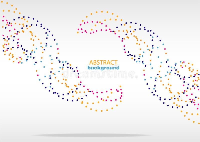 Абстрактная предпосылка с геометрическими картинами, для интернет-страницы и дизайна стоковая фотография