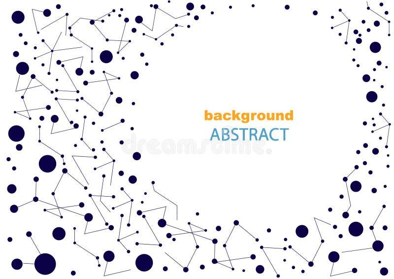 Абстрактная предпосылка с геометрическими картинами, для интернет-страницы и дизайна стоковое фото rf
