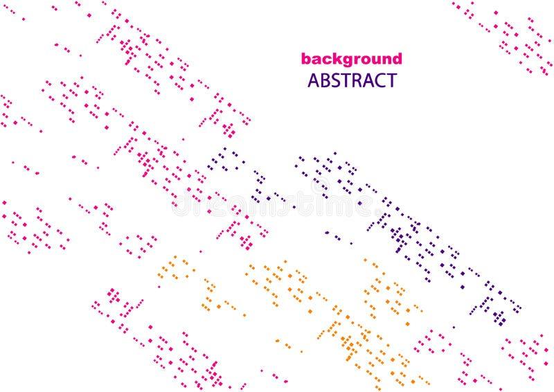 Абстрактная предпосылка с геометрическими картинами, для интернет-страницы и дизайна стоковые изображения