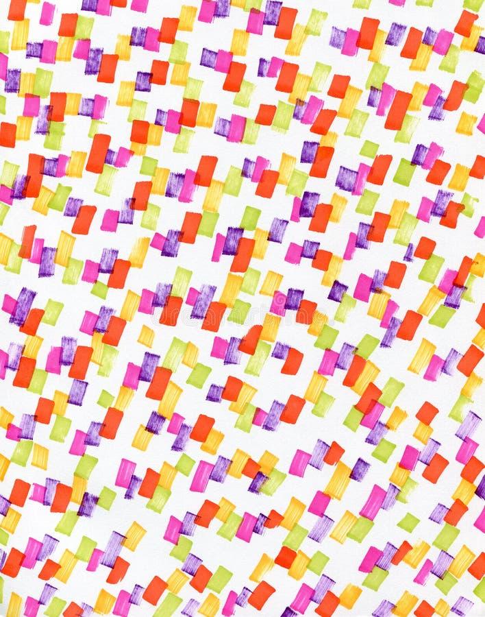 Абстрактная предпосылка с пестроткаными пятнами иллюстрация вектора