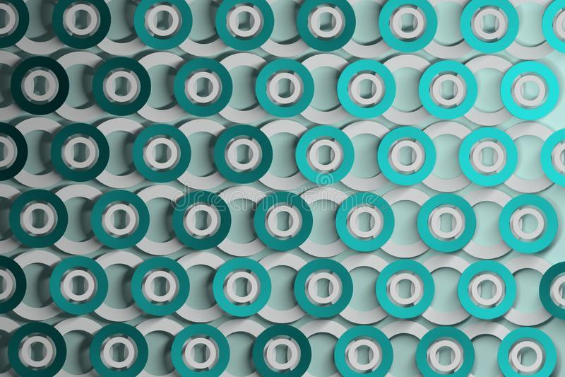 Абстрактная предпосылка с строками повторять кольца иллюстрация штока