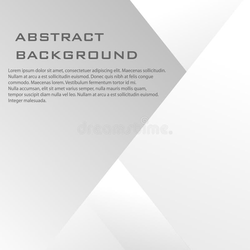 Абстрактная предпосылка тени квадратной картины Страница цвета дела вектора современная бесплатная иллюстрация