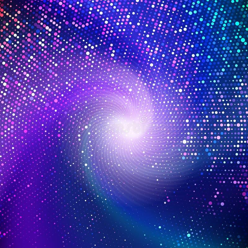 Абстрактная предпосылка точек полутонового изображения бесплатная иллюстрация