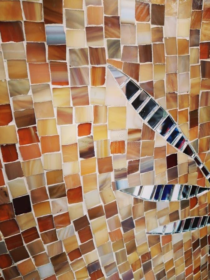 Абстрактная предпосылка украшения керамических плиток стоковое фото