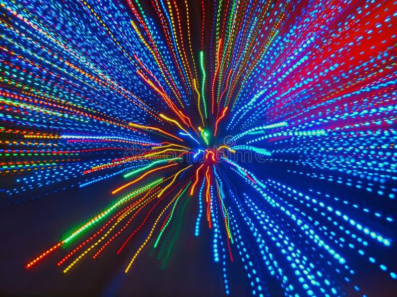 Абстрактная предпосылка цветастых собирательных лучей стоковые фотографии rf